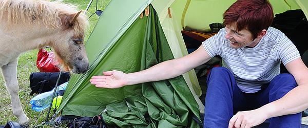 Camping bei Brzeg